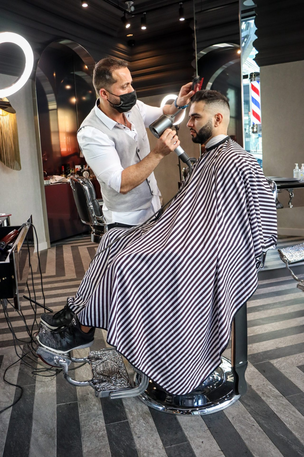 Dundas Square Barbers Photography