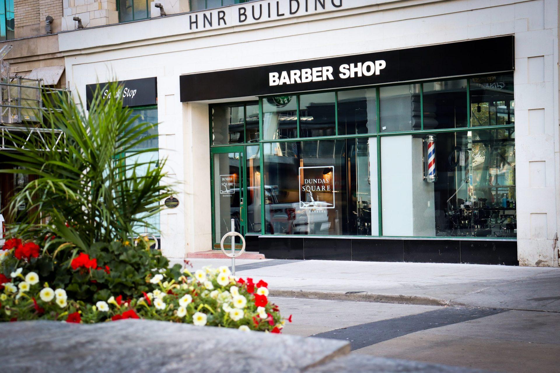 Dundas Square Barbers Storefront Photo