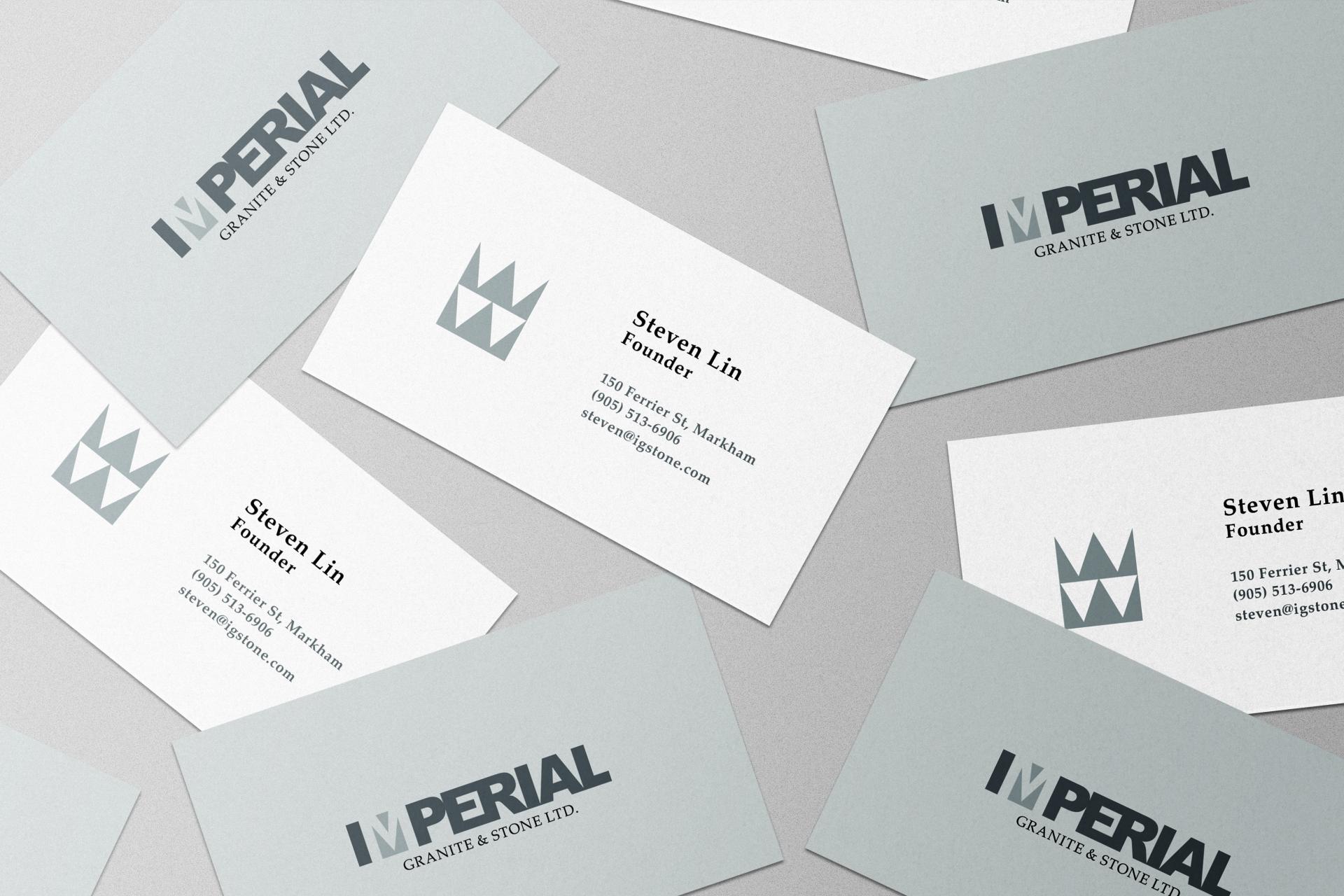 Imperial Granite & Stone Ltd. Business Cards
