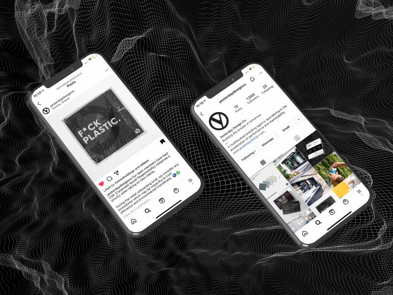 Yesterday Design Co. Social Media